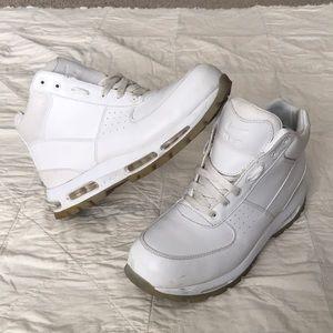 """Air Max Goadome ACG Leather """"Triple White"""" boots"""